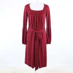 Roberta Freymann red A-line dress M